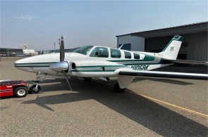 1979 BEECHCRAFT 58TC BARON For Sale In CHICO, California